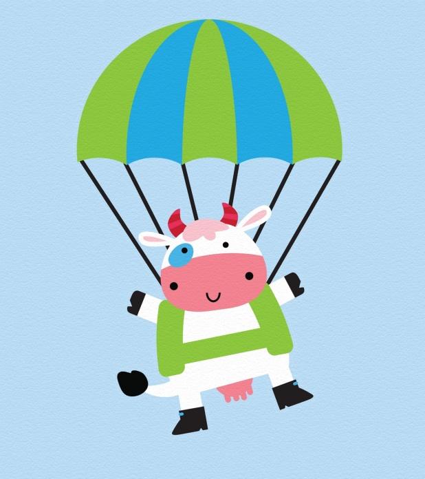 air-jumping-cow